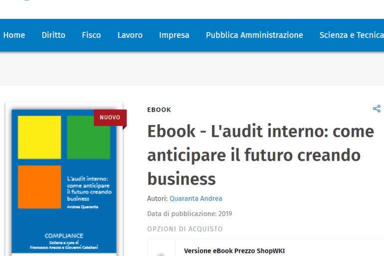 Acquista il nuovo e book di Andrea Quaranta!